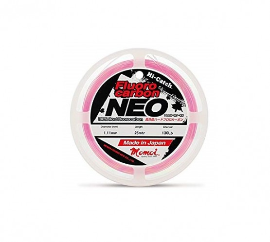 HILO FLUOROCARBON MOMOI NEO PINK 25 MT
